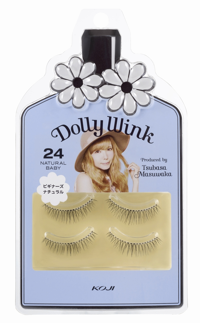 cd1b216a2f7 DollyWink Eyelash No.24 NATURAL BABY|KOJI-HONPO